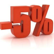 Poklon 5% posle svake kupovine!