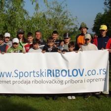 Prodavnica Sportski RIBOLOV - donator dečijeg takmičenja