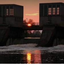 Šlajzovi i brana na kanalu DTD