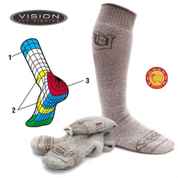 Vision Subzero vunene čarape (Ribolovačka oprema) - www.sportskiribolov.co.rs