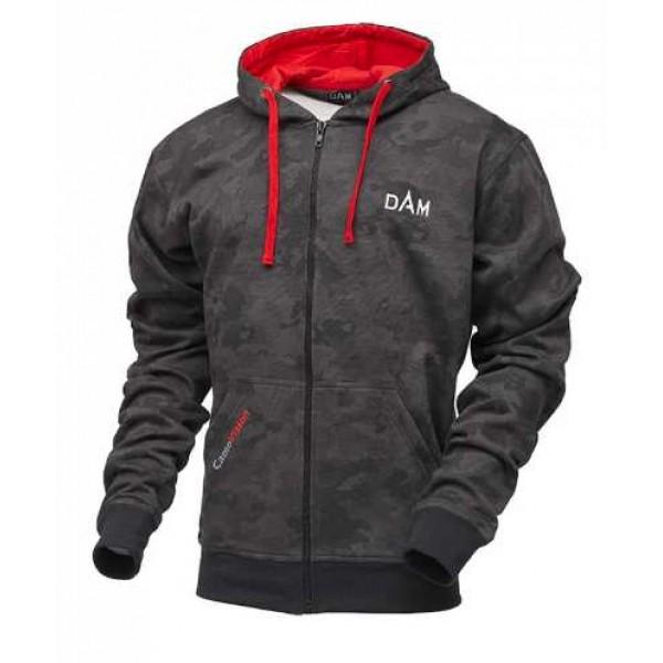DAM Camovision zip hoodie (Ribolovačka oprema) - www.sportskiribolov.co.rs