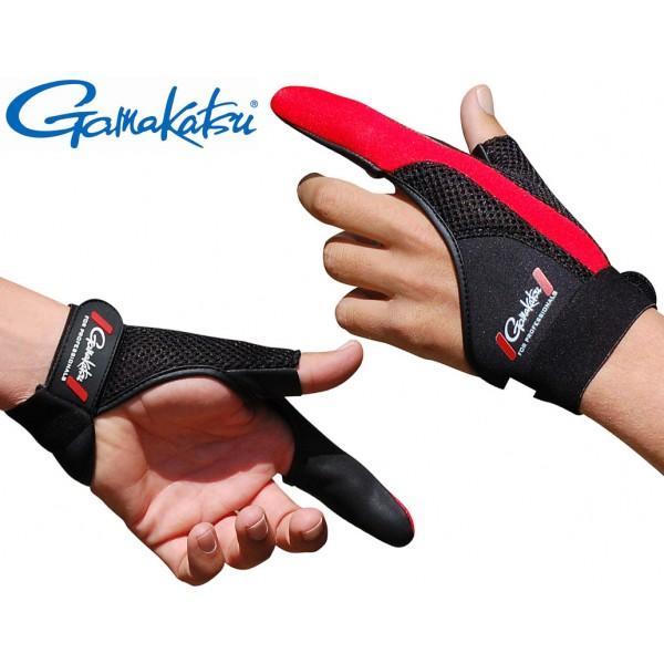 Gamakatsu Zaštitna bacačka rukavica (desna ruka) (Rukavice) - www.sportskiribolov.co.rs