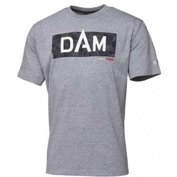DAM Grey Melange Logo majica (Majice) - www.sportskiribolov.co.rs