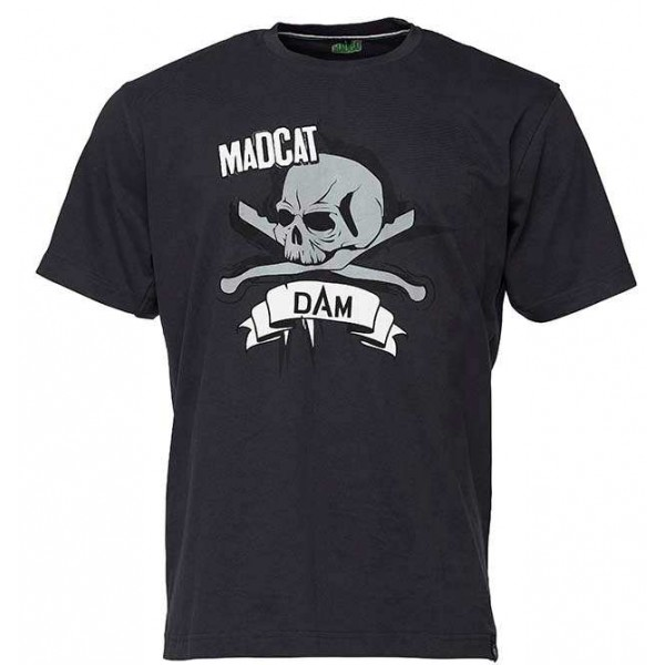 DAM Madcat Skull Majica (Ribolovačka oprema) - www.sportskiribolov.co.rs
