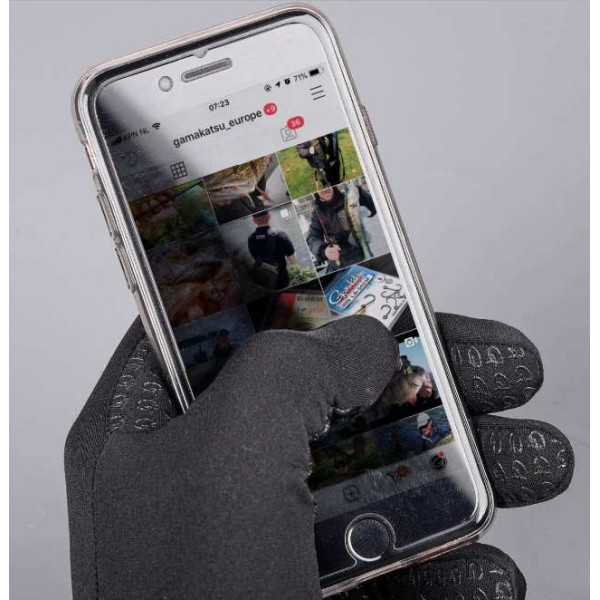 Gamakatsu rukavice za touch screen (Ribolovačka oprema) - www.sportskiribolov.co.rs