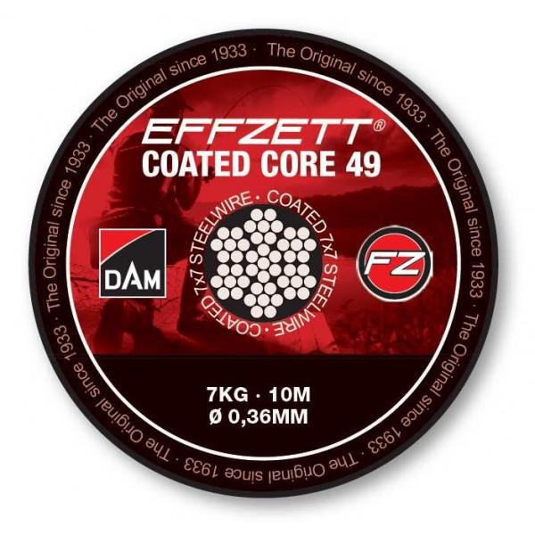 DAM Effzett Coated Core 7x7 sajlica 10m (Virble / Kopče / Sajle) - www.sportskiribolov.co.rs