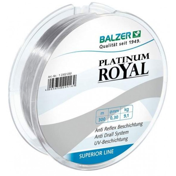 Balzer Platinum Royal 150m (Najloni za pecanje) - www.sportskiribolov.co.rs