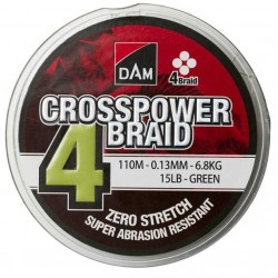 DAM Crosspower 4-Braid 150m