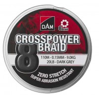 DAM Crosspower 8-Braid 150m