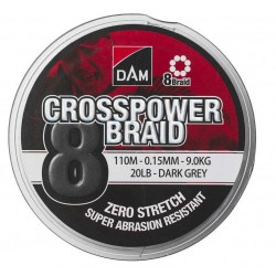 DAM Crosspower 8-Braid 150m
