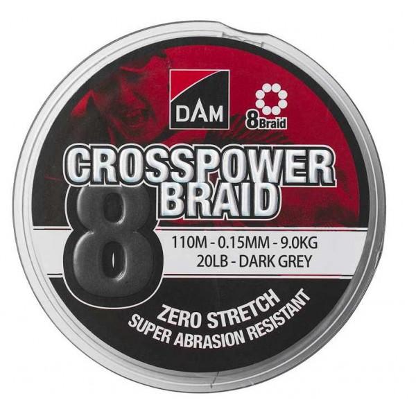 DAM Crosspower 8-Braid 150m (Upredene strune) - www.sportskiribolov.co.rs