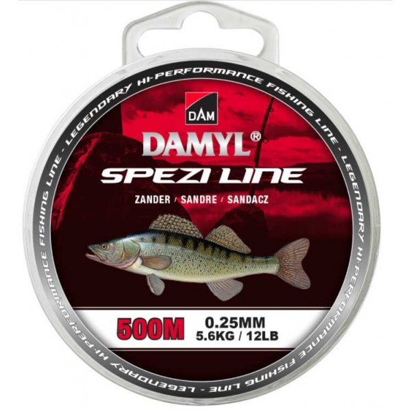 DAM Damyl Spezi Line Zander (Najloni za pecanje) - www.sportskiribolov.co.rs