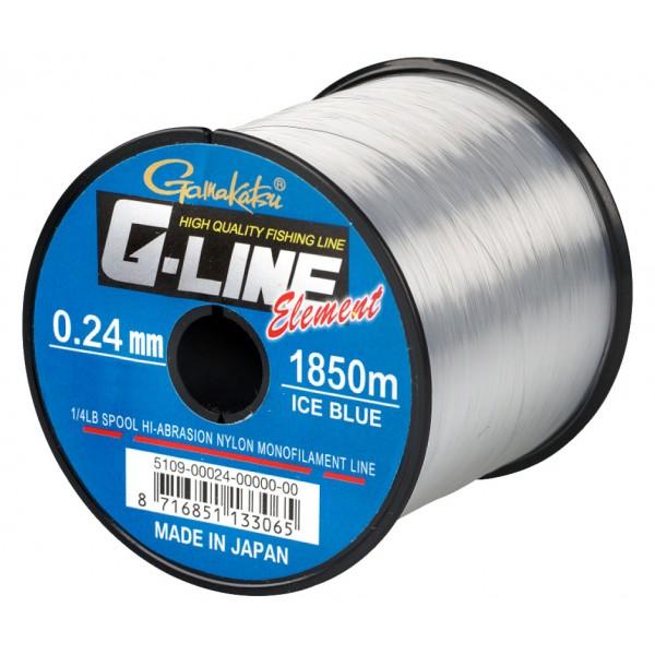 Gamakatsu G-Line Element - Ice Blue (Najloni za pecanje) - www.sportskiribolov.co.rs