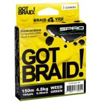 SPRO Got Braid Weed 150m (Upredene strune) - www.sportskiribolov.co.rs