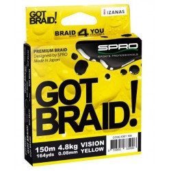 SPRO Got Braid Vision Yellow 150m