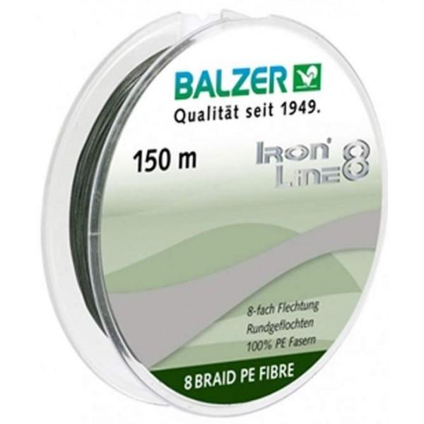 Balzer Iron 8x green 150m (Upredene strune) - www.sportskiribolov.co.rs