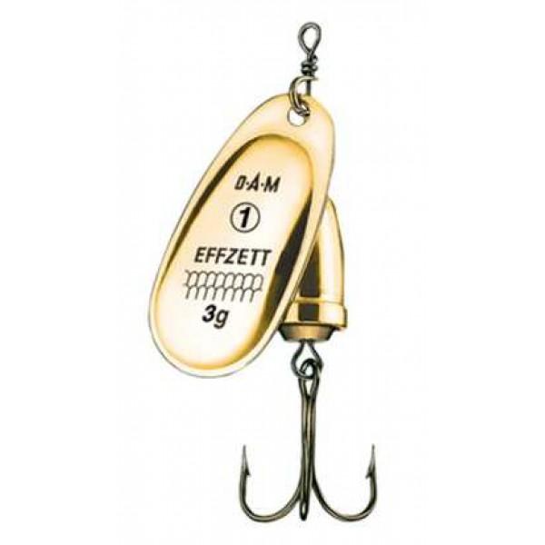 DAM Effzett Executor Spinner Gold (Spinner / Leptir varalice) - www.sportskiribolov.co.rs