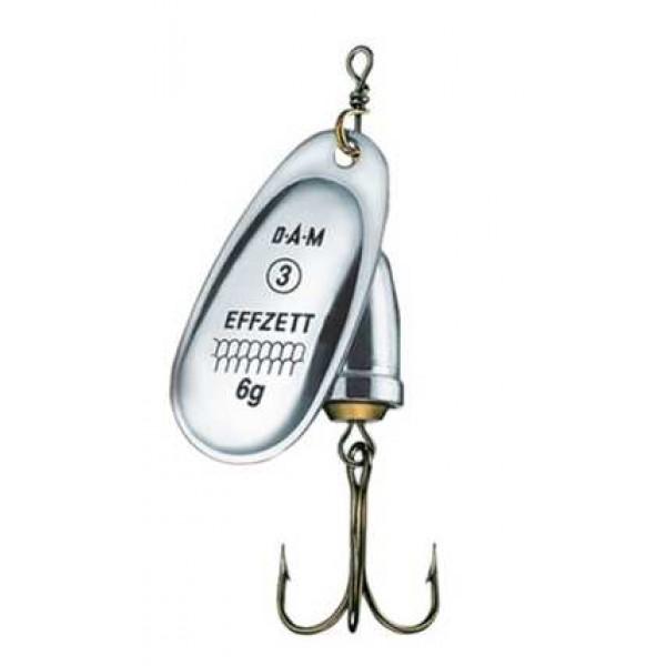 DAM Effzett Executor Spinner Reflex Silver (Spinner / Leptir varalice) - www.sportskiribolov.co.rs