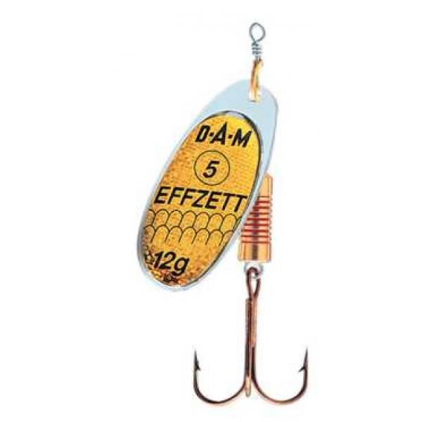 DAM Effzett Standard Spinner Reflex Gold (Spinner / Leptir varalice) - www.sportskiribolov.co.rs