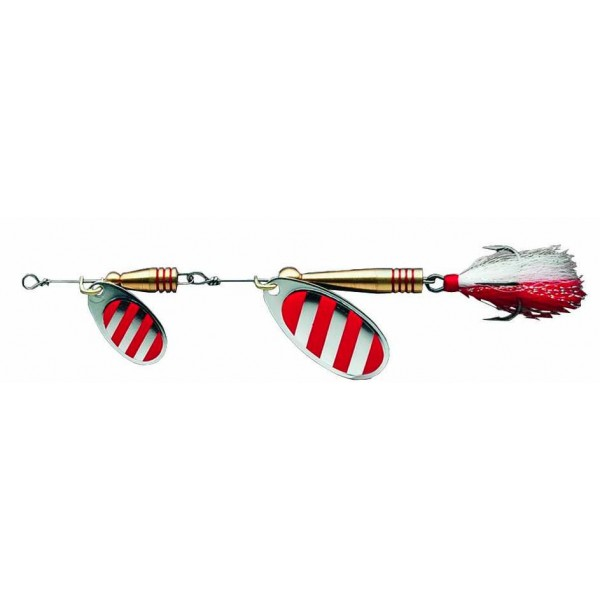 DAM Effzett Tandem Dressed Spinner Stripe (Spinner / Leptir varalice) - www.sportskiribolov.co.rs