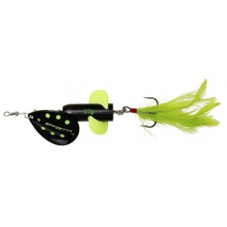 DAM Effzett Rattlin Spinner Black Demon