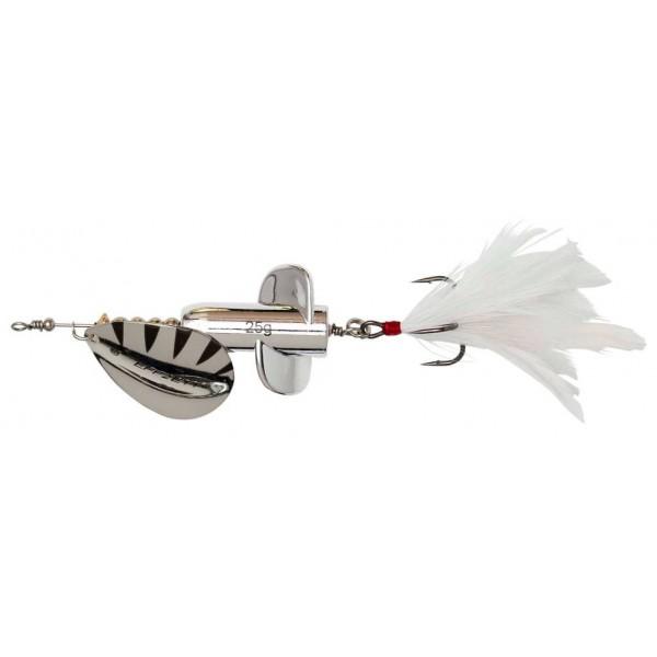 DAM Effzett Rattlin Spinner Silver (Spinner / Leptir varalice) - www.sportskiribolov.co.rs